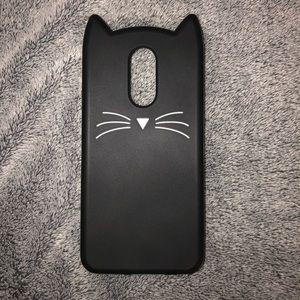 LG K20 Plus Cat Ear Phone Case